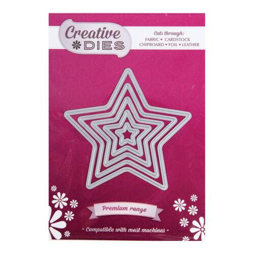 Creative muere anidamiento Set Die EstrellasConjunto de 5