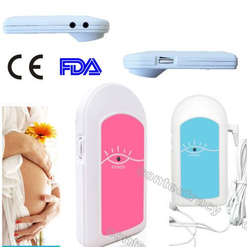 Baby heart monitor Baby Sound Fetal Doppler,Babys Heart instrument+GEL,warranty