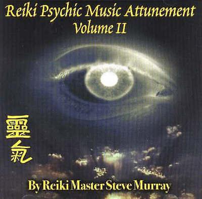 Reiki Psychic Music Attunement: v. 2 by Steve Murray (CD-Audio, 2004)