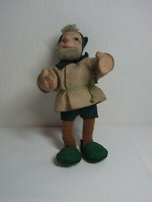 Vintage Stuffed Gnome Dwarf  #D