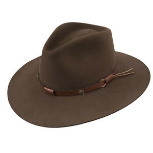 Stetson Cowboy Hat 5X Beaver Fur Felt Mink Catera Free Hat Brush Cleaner 7bce59b01a8