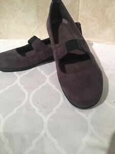 Bussola-Gray-Mary-Janes-Size-39-8-8-5