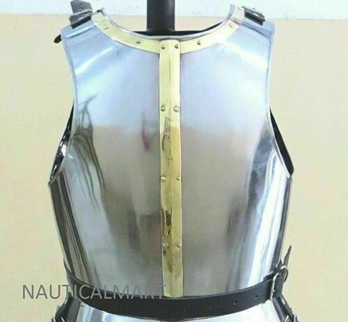 Medieval Epic Knight Suit of Armor Breastplate Cuirass LARP for Christmas Gift