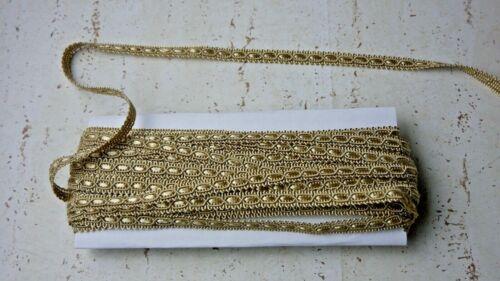 Passamaneria Tappezzeria Copripunto Alto mm.10  Colore Oro