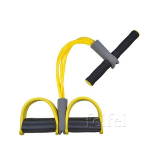 Fitness Elastic Sit Up Pull Rope Abdominal Exerciser Equipment Sport New Hot