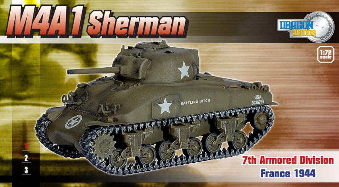 Dragon armor  1 72,     Extra Rare     US M4A1 Sherhomme, Art.  60257  vente en ligne