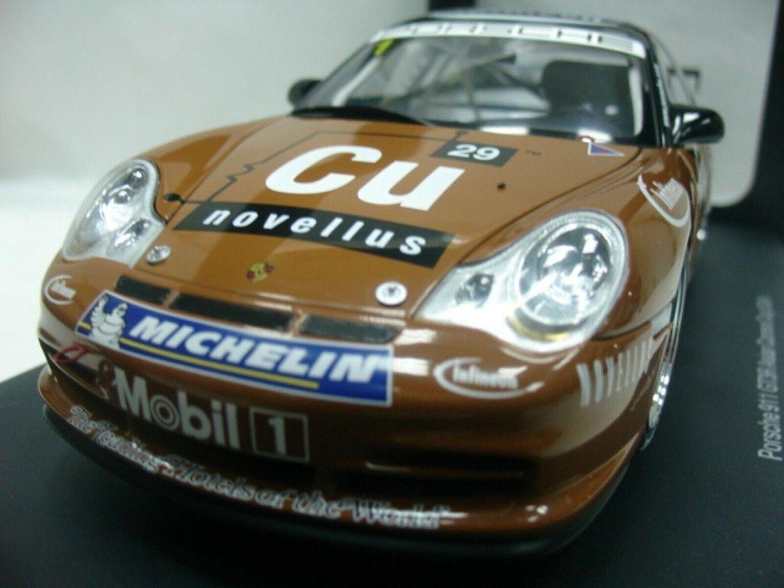 Wow extrêmement rare Porsche 996 911 GT3R  1 Kwan Sepang 2004 1 18 AUTO Art-997 RS