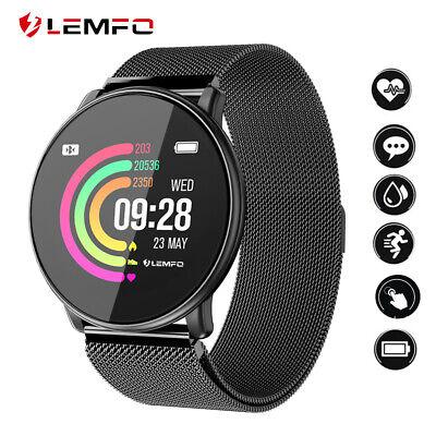 LEMFO DIY Dial Sports Smart Watch Band FitnessTracker Heart Rate Blood Pressure
