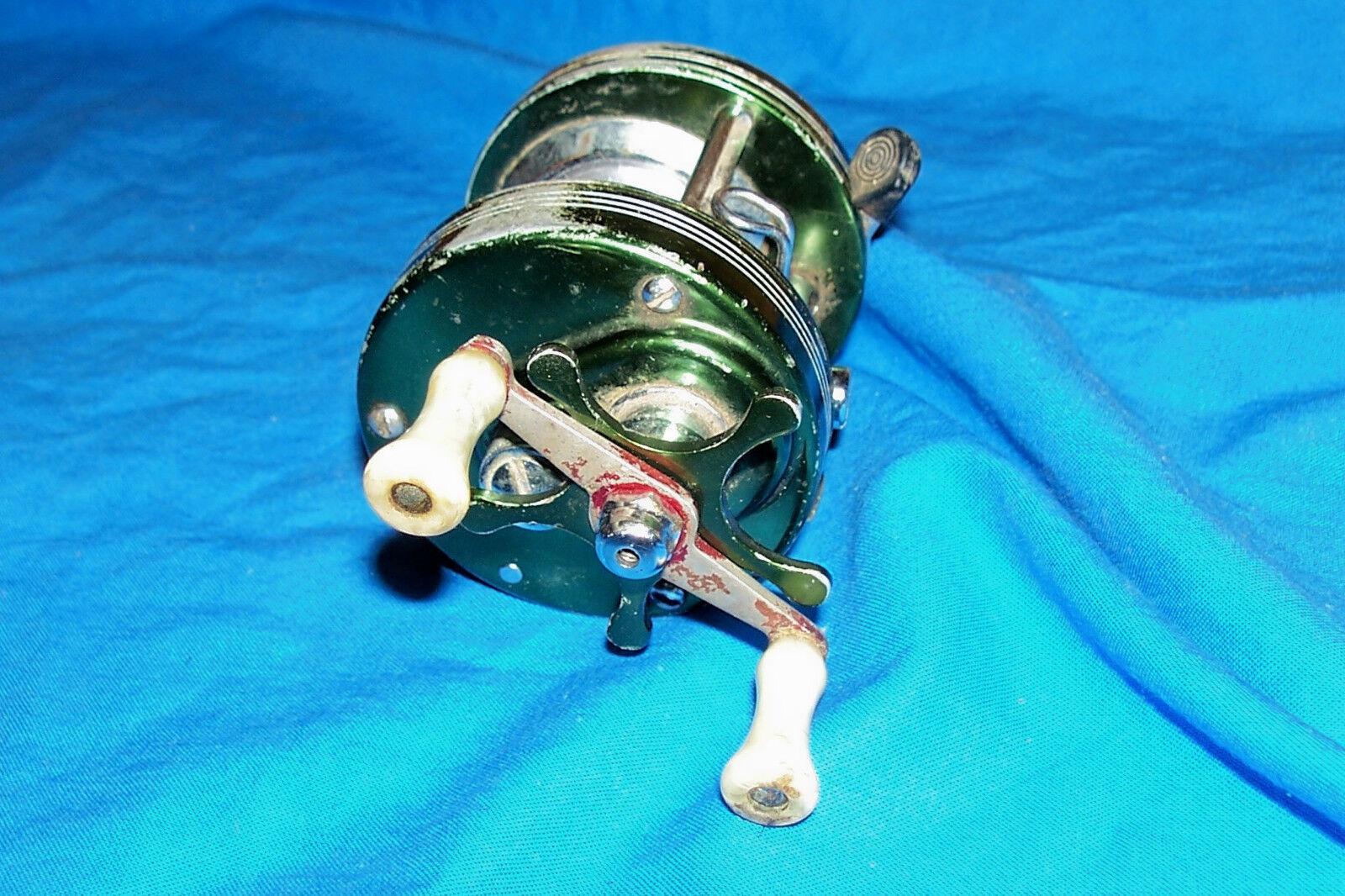 Vintage Heddon Mark IV 4 modello 3200 Bait Casting Fishing Reel Old Baitcasting