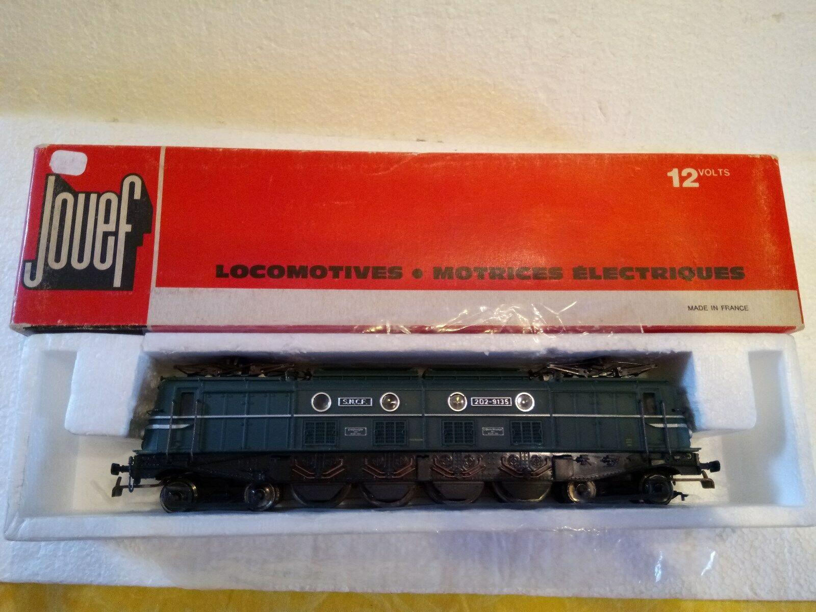 JOUEF HO Ref. 8483 Locomotive électrique 2D2 9135 - Dépôt Lyon Mouche
