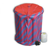 Portable Inflatable Spa Home Steam Sauna For Detox Therapy Weight Lose Brand