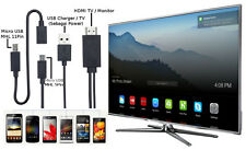 2M Micro USB 5 Pin & 11 Pin MHL to HDMI HD TV Cable Adapter for Android Phone