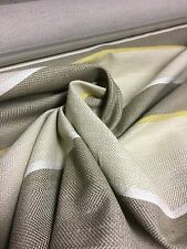 BEAUTIFUL LAURA ASHLEY LIGHT BROWN CHENILLE UPHOLSTERY FABRIC 4.3 METRES