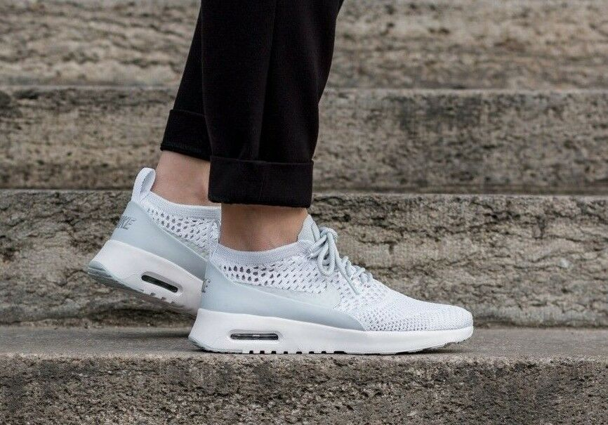 UK 8 WO Hommes NIKE AIR MAX THEA ULTRA FLYKNIT RUNNING GYM CASUAL TRAINERS EU 42.5