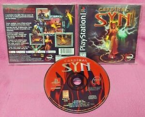 Cardinal-Syn-Playstation-1-2-PS1-PS2-Game-Near-Mint-Disc-1-Owner