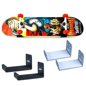 a8f0bad4 Image is loading Skateboard-Hanger-Snowboard-Rack-Naked-Longboard-Wall-Mount -