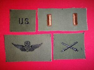 5 Armée Américaine Correctifs - États-unis Enrôlé-Paire 2ème Lt-Maîtresse Avion VCT0utd6-09160343-119612775