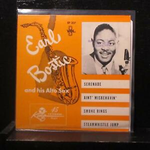 Earl-Bostic-Earl-Bostic-And-His-Alto-Sax-Vol-8-7-034-VG-EP-207-USA-Vinyl-45