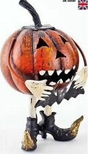 Large Metal Pumpkin with Bat  - led is not included...read description