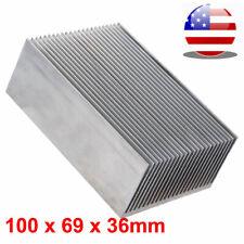 1006936mm Heatsink Aluminum Heat Sink For Led Amplifier Ic Transistor Module