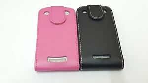 NEW-BLACK-PINK-GENUINE-PU-LEATHER-FLIP-CASE-COVER-FOR-BLACKBERRY-CURVE-BB-9360
