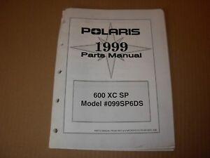 1999-Polaris-600-XC-SP-Snowmobile-Parts-Manual
