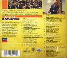 Georges Prete Vienna Philharmonic New Year's Concert 2010 CD 2-disc NEW Strauss