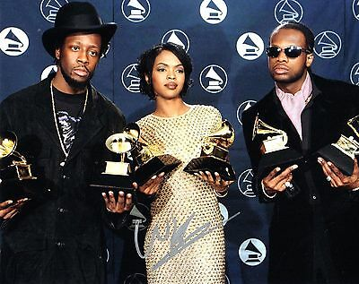 Beautiful Gfa The Fugees Group Signed 8x10 Photo Ad4 Coa Sophisticated Technologies Wyclef Jean
