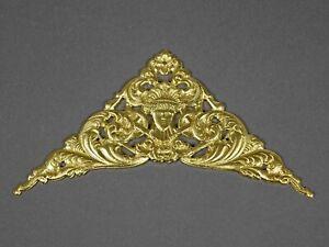 ZIERTEIL-Bronze-f-Uhrengehaeuse-Zifferblatt-Pendule-Wanduhr-Tischuhr-Uhr-clock
