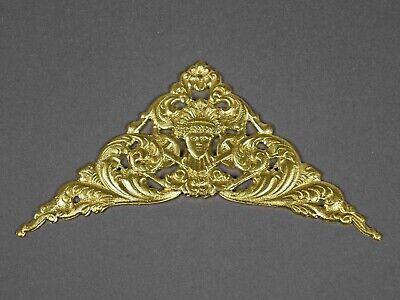 ZIERTEIL Bronze f Uhrengehäuse Zifferblatt Pendule Wanduhr Tischuhr Uhr clock