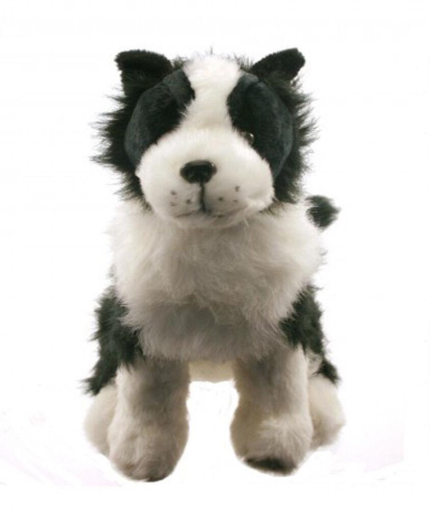 Large Super Soft Border Collie Dog Doorstop - Soft Toy