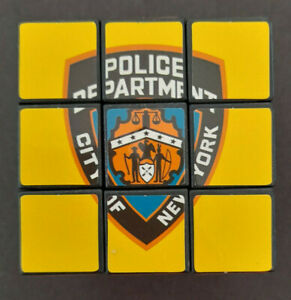 """NYPD New York City Police Department 2""""x2""""x2"""" Rubik's Cube"""