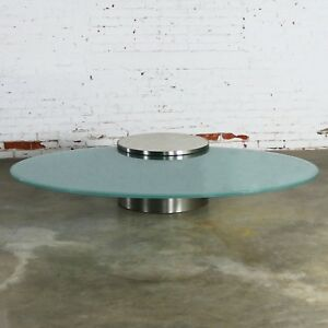 Details About Hoop Cantilevered Low Cocktail Table By J. Wade Beam For  Brueton