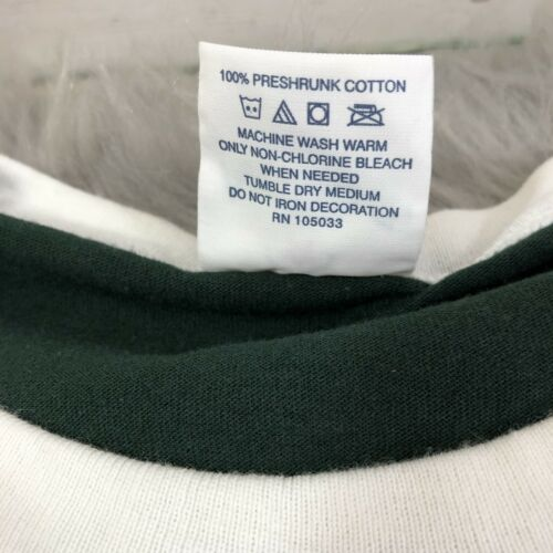 Hawaii 09 Alore Made in USA Ringer TShirt Single Stitched Size 2XL Vintage