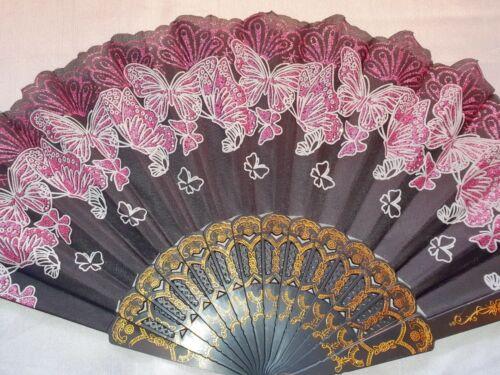 LOTTO di 36 PZ Flower Design Spagnolo PIEGHEVOLE A MANO NUOVA Ventola LOTTO all/'ingrosso 13