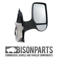 *FORD TRANSIT MK6 MK7 COMPLETE WING DOOR MIRROR MANUAL DRIVERS SIDE RH - TRA347