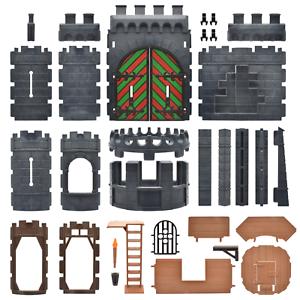Playmobil Ritterburg Pièces de rechange Tour château porte mur poteau connecteur troué
