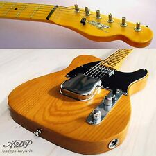 ADP CUSTOM GUITAR B2W NeckMKF TELE Lic.Fender Body SwampAsh1Pc BARE KNUCKLE DEMO