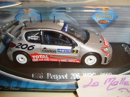 Peugeot 206 WRC 2002 Total 1/43° Solido Ref 1586 Promo