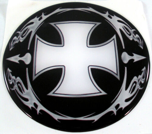 "Premium /""Iron Cross/"" Custom Gloss Decal for Car Truck Maltese Window Sticker"
