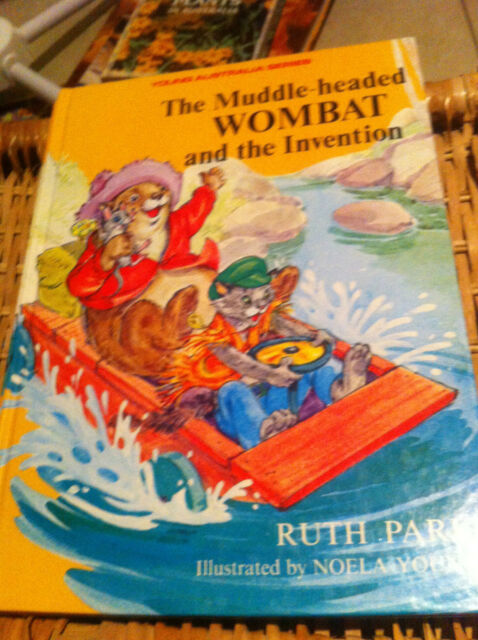 Muddle-headed Wombat and the Invention by Ruth Park Young Australian Series