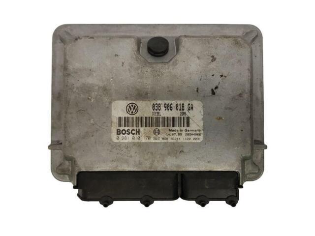 Motorsteuerung  VW 038906018GA 0281010170 Bosch