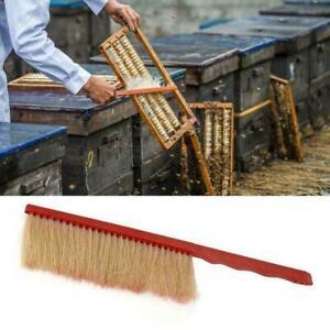 Bee-Sweep-Brush-Horse-Hair-Bee-Flicking-Horsetail-Bee-Beekeeping-Equipment-V7V6