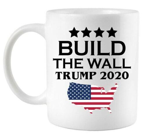 Build The Wall Trump 2020 Coffee Mug Trump 2020 Coffee Mug
