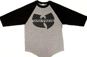 9945444c1fc WU TANG CLAN Raglan T-shirt Gza Rza ODB Hip Hop Baseball Tee 3 ...