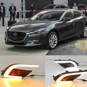 led daytime running light for mazda 3 2017 fog lamp drl. Black Bedroom Furniture Sets. Home Design Ideas
