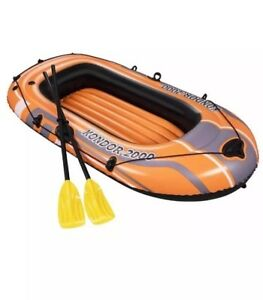 Bestway Kindor 2000 Inflatable Dinghy Canoeing Kayaking Sporting Inflatable BN