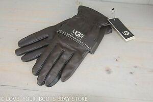 Ugg Tech Two Tone Tech Brown Multi Winter Gloves Womens