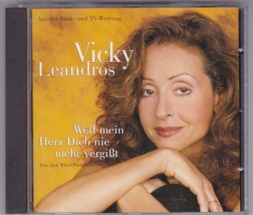1 von 1 - VICKY LEANDROS-WEIL MEIN HERZ DICH NIE VERGISST-CD ALBUM BMG 1998 TOP ZUSTAND!