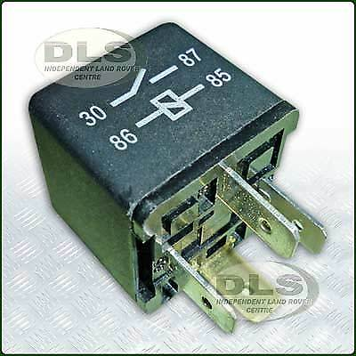YWB10027L Multi-purpose 4 Pin Relay replaces Yellow one Land Rover Def,Disco,RR